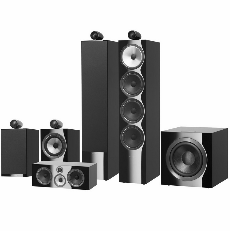 Bowers & Wilkins 702 S2 Theatre (black)