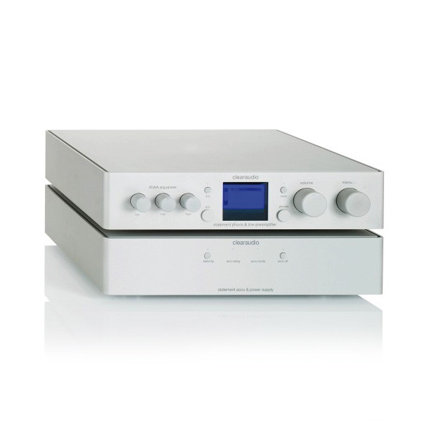 Clearaudio Statement Phono (silver)