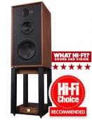 Wharfedale 85th Anniversary Linton with stands (ANTIQUE WALNUT)