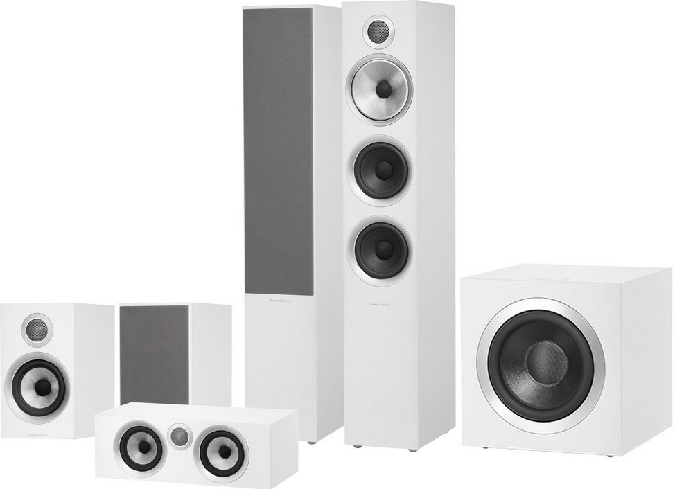 Bowers & Wilkins 704 S2 Theatre (White)