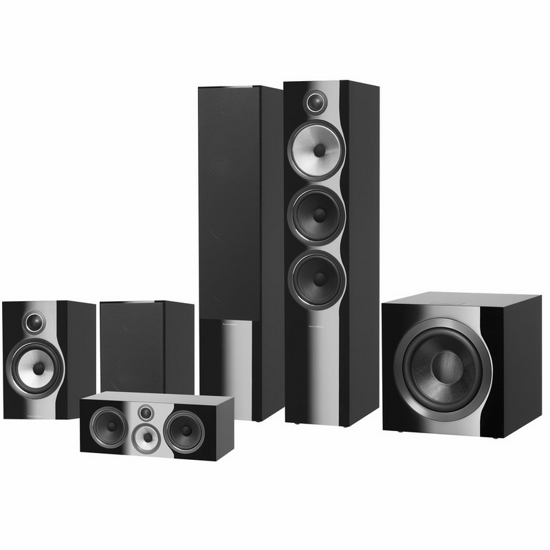 Bowers & Wilkins 703 S2 Theatre (Black)