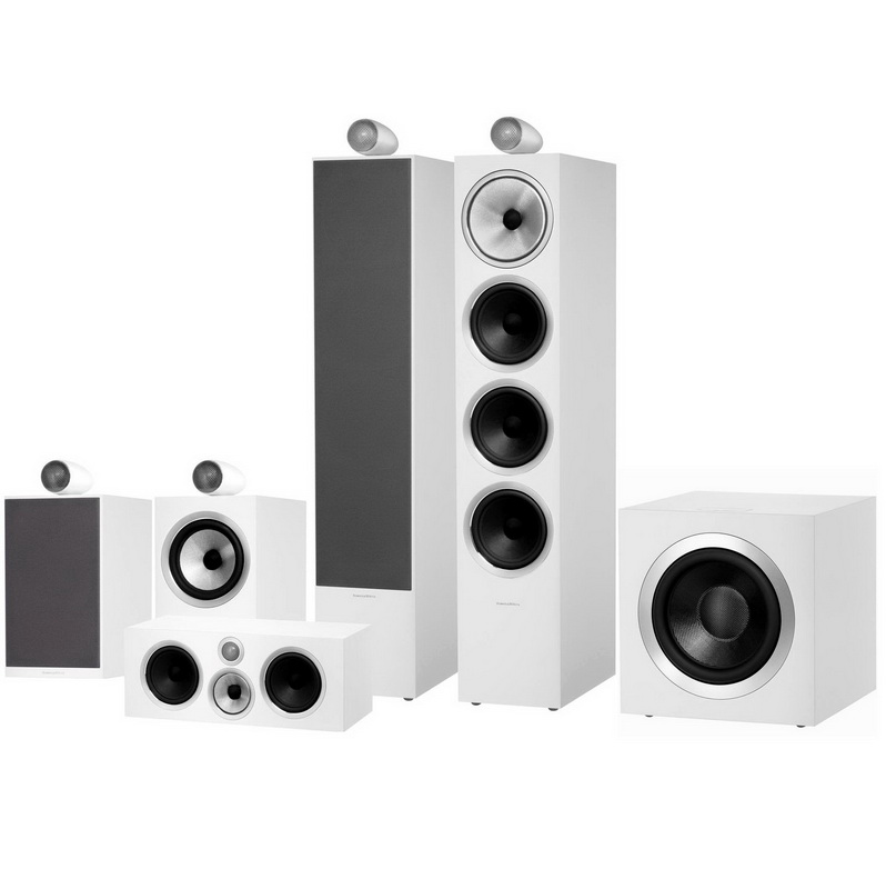 Bowers & Wilkins 702 S2 Theatre (White)