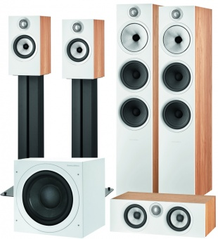 Bowers & Wilkins 603 S2 Anniversary Edition (комплект 5.1) oak